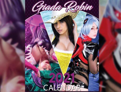 5 ANNI DI CALENDARIO COSPLAY PER GIADA ROBIN